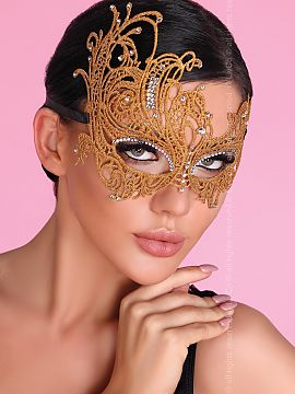 Maska Model Golden Gold - Livia Corsetti Fashion Livia Corsetti Fashion