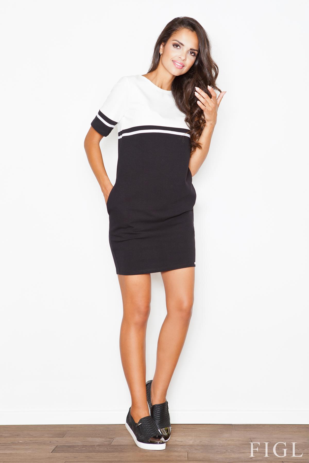 Denní šaty  model 44451 Figl
