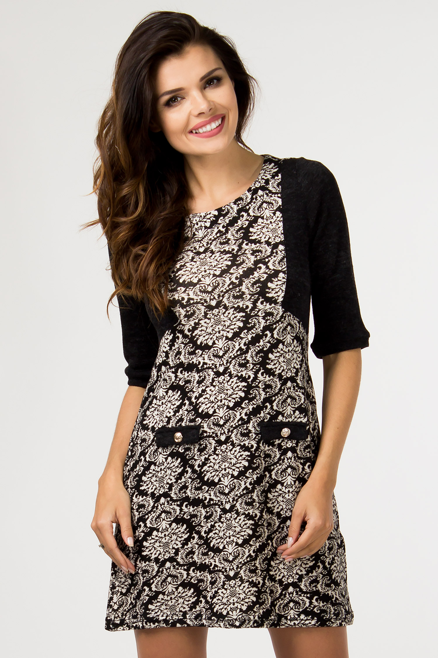 Denní šaty  model 46786 Depare