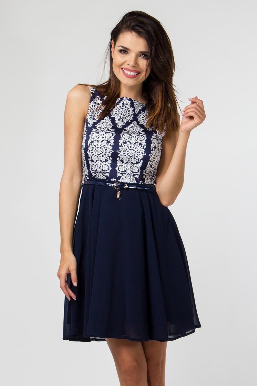 Denní šaty  model 47395 Depare