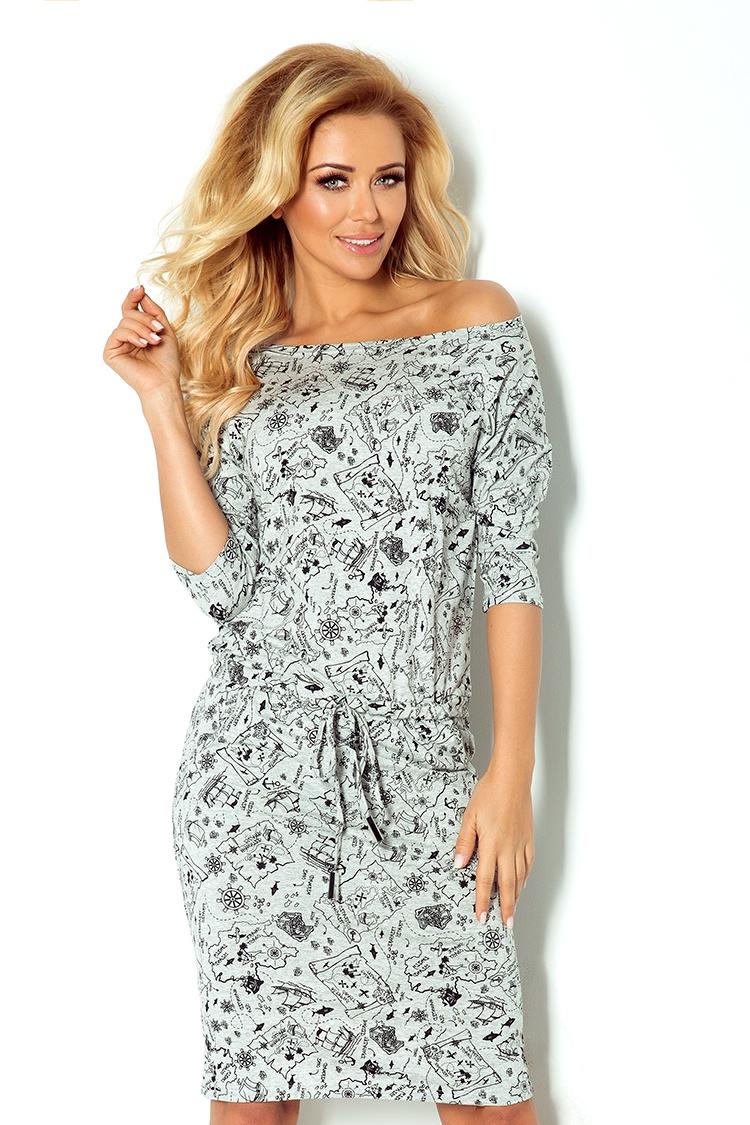 Denní šaty  model 48589 Numoco
