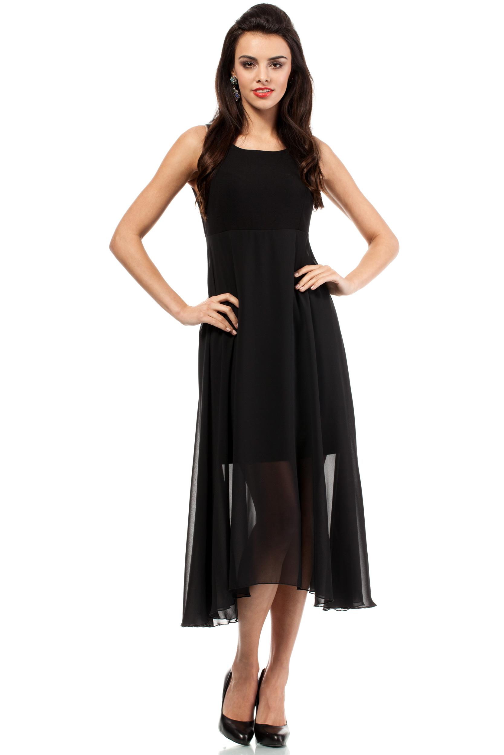 Dlouhé šaty  model 48684 Moe