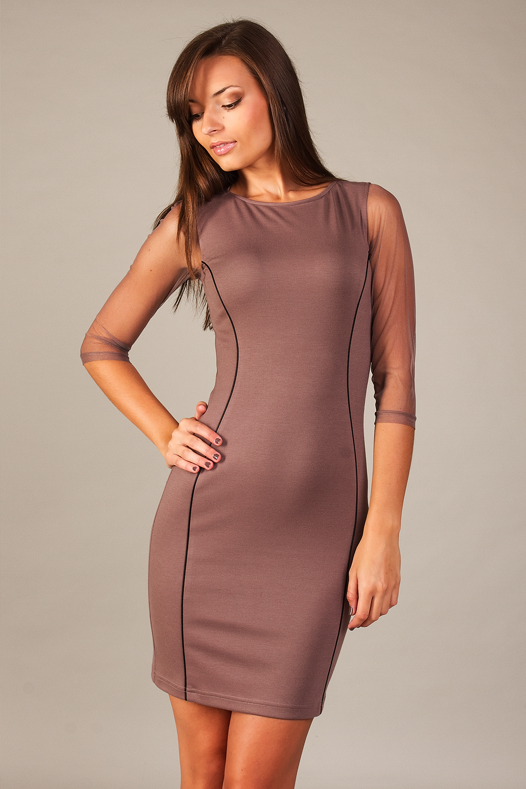 Večerní šaty  model 49606 Vera Fashion