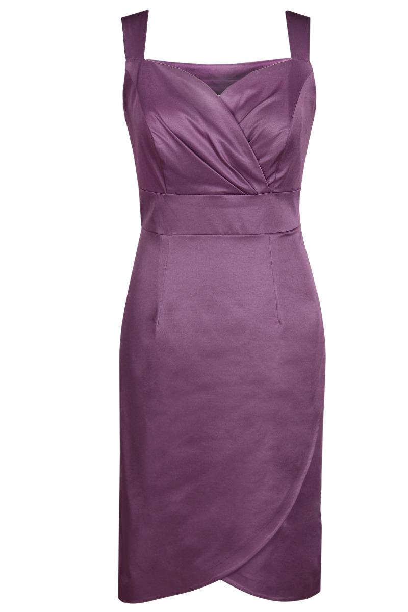 Společenské šaty  model 49768 Fokus Fashion