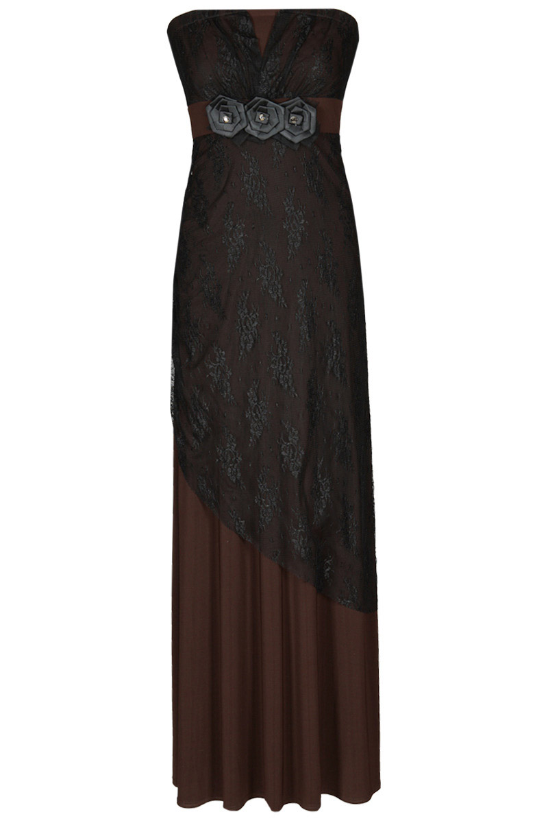 Dlouhé šaty  model 50949 Fokus Fashion