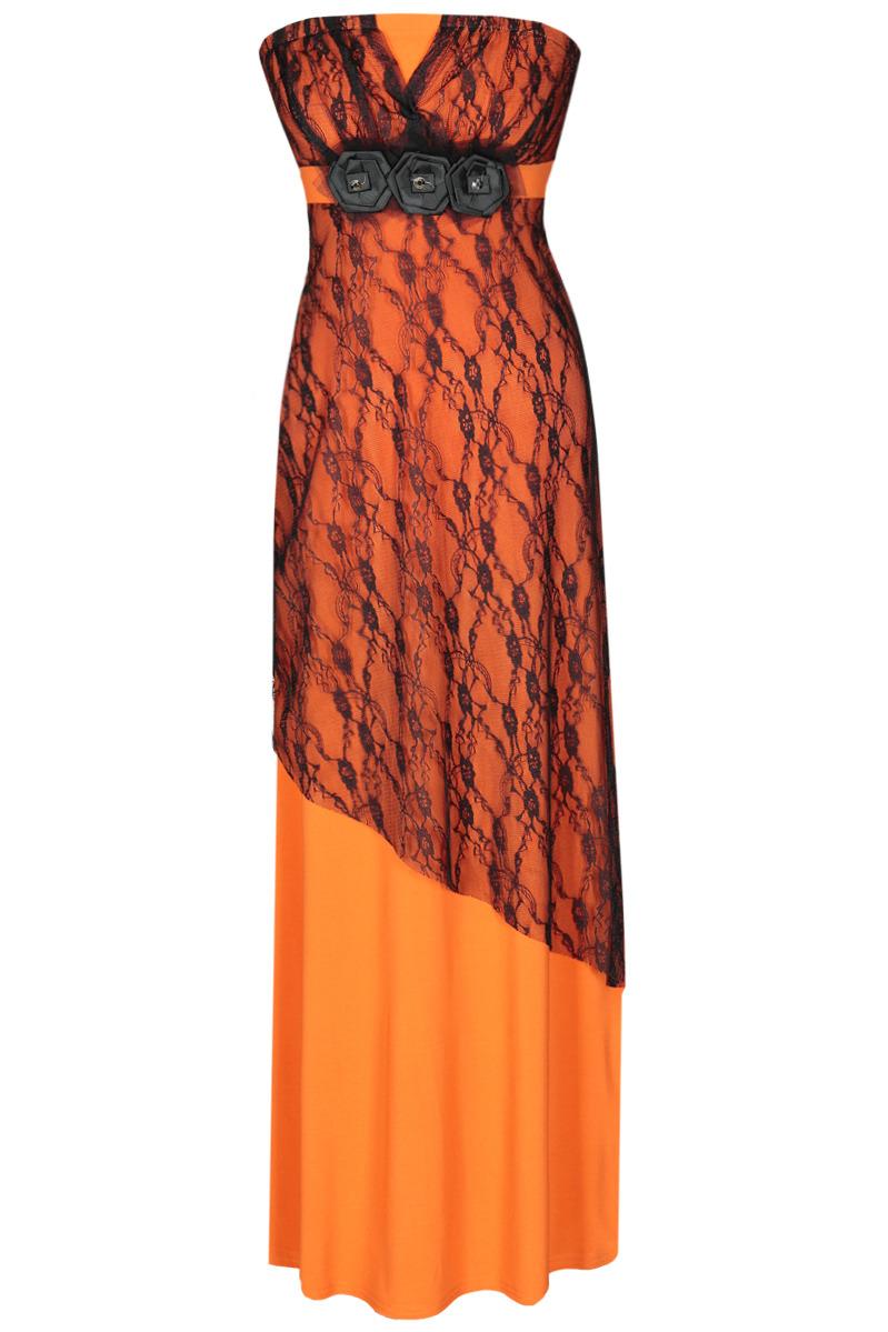 Večerní šaty  model 51353 Fokus Fashion