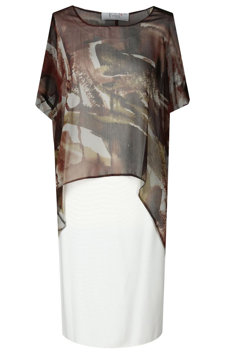 Denní šaty  model 52022 Fokus Fashion