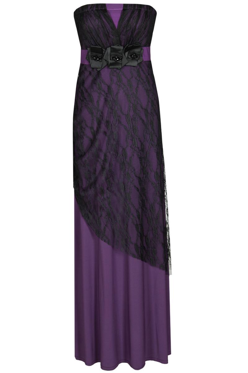Večerní šaty  model 52064 Fokus Fashion