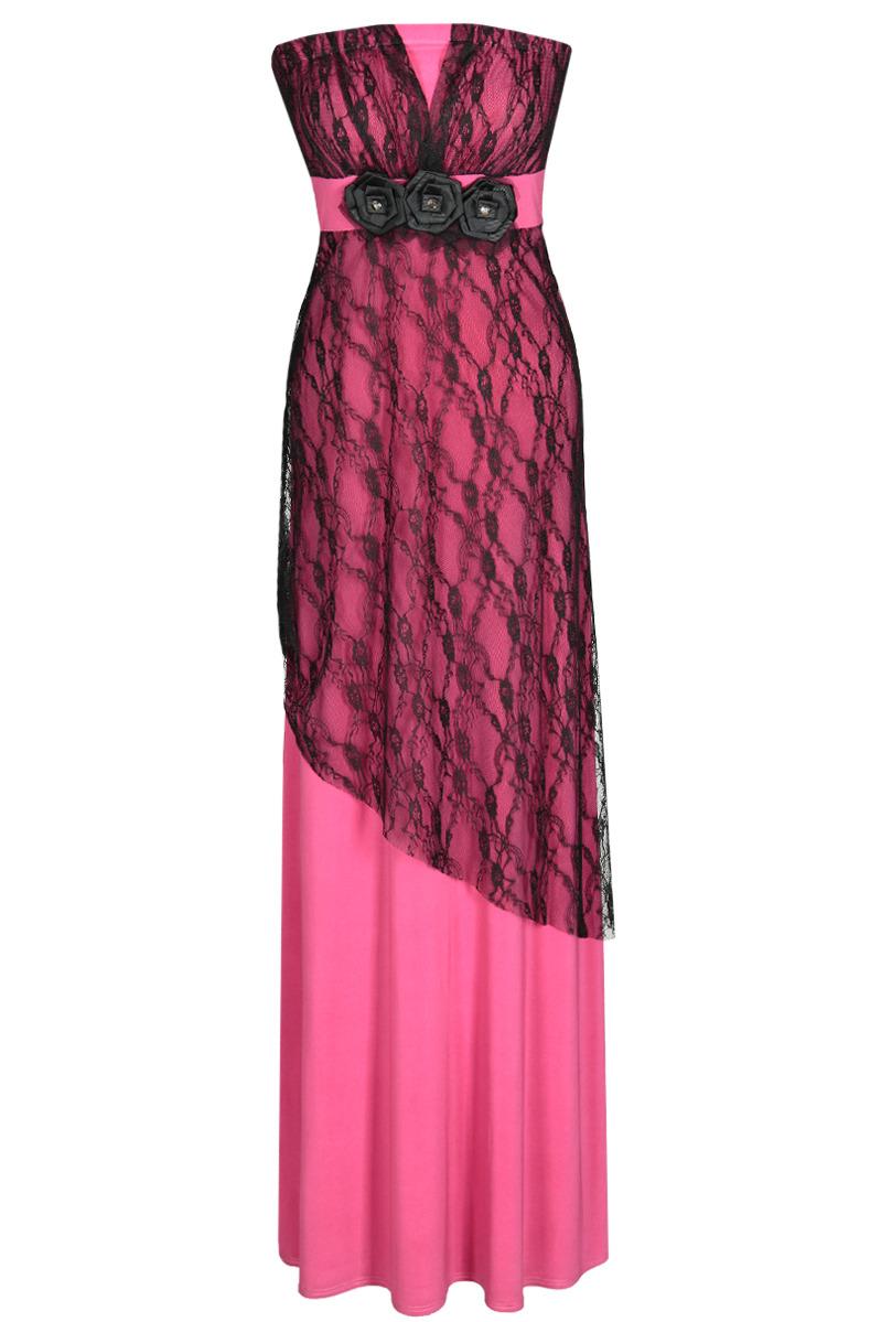 Večerní šaty  model 52065 Fokus Fashion