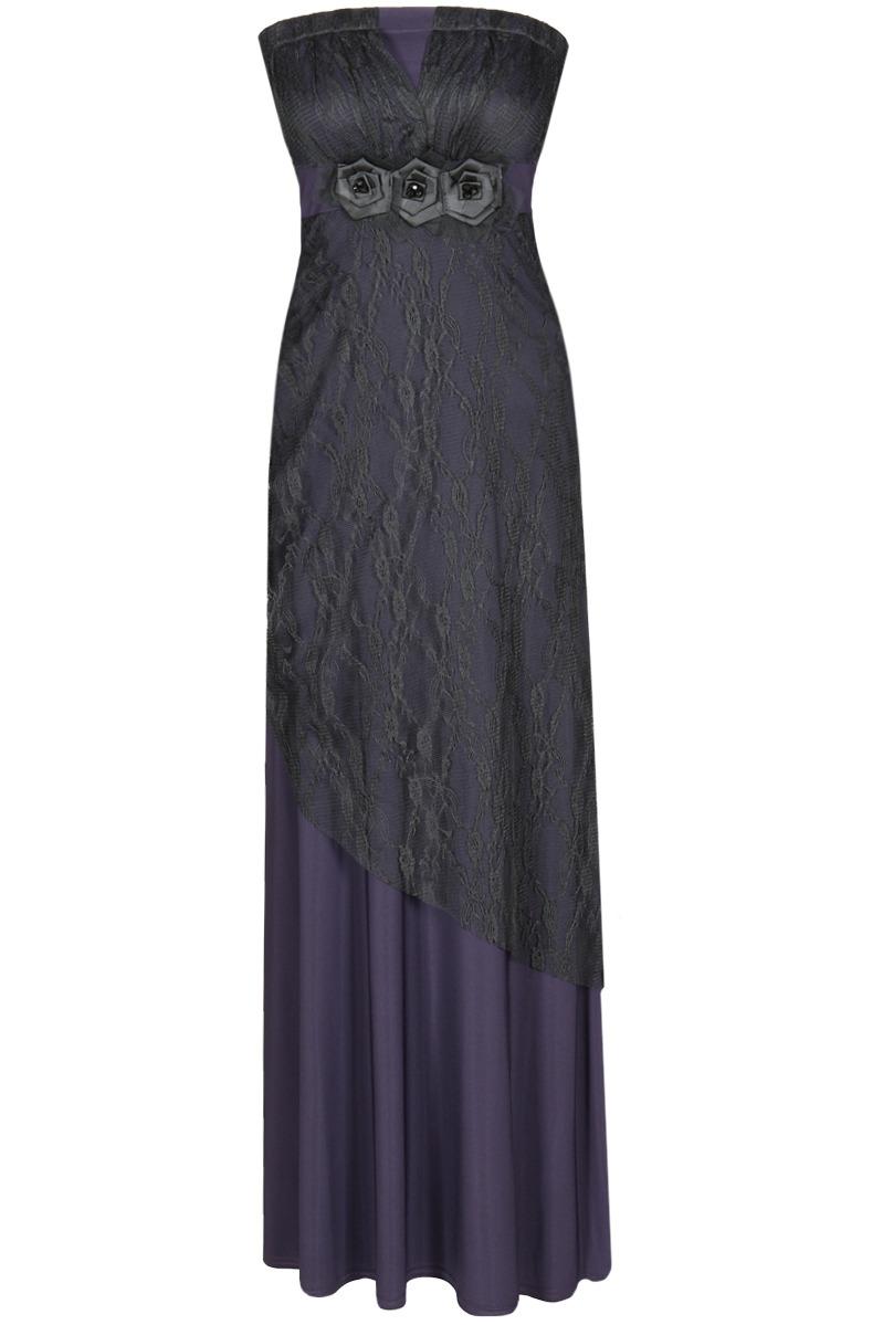 Večerní šaty  model 52066 Fokus Fashion