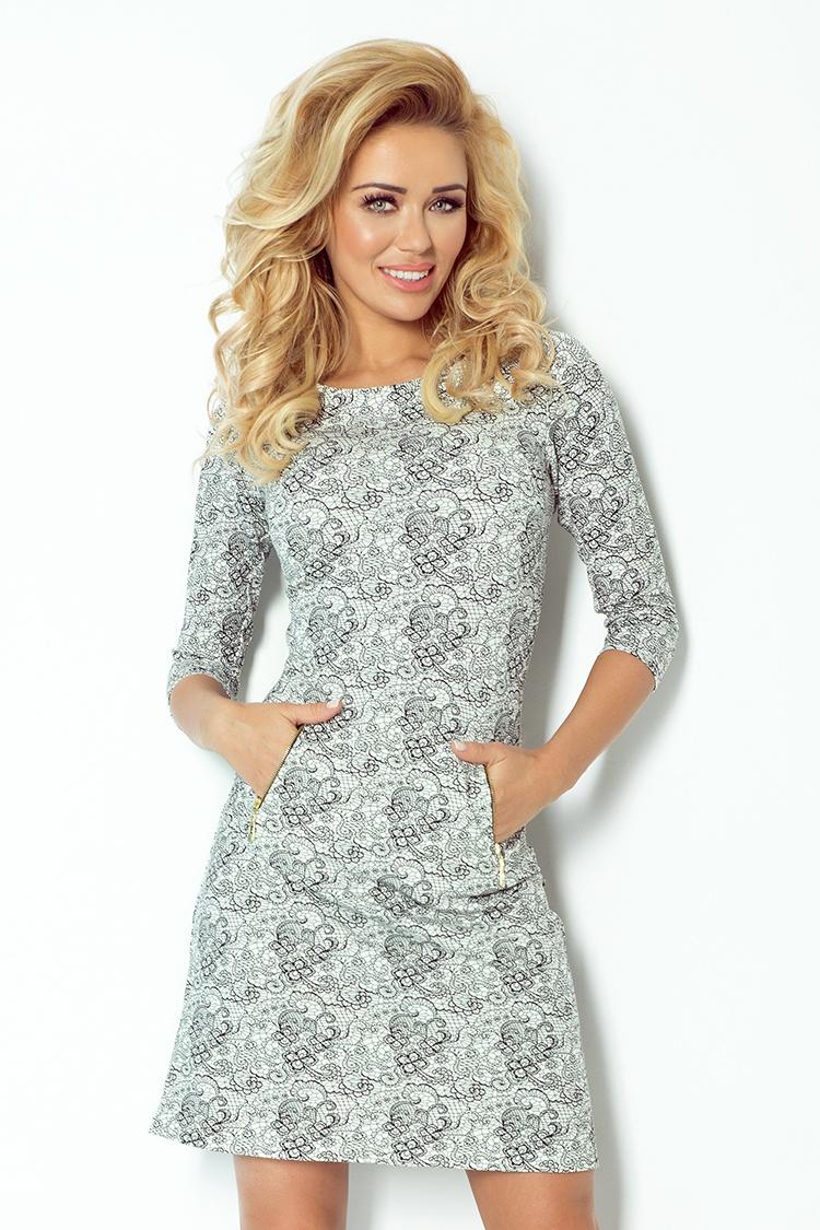 Denní šaty  model 52410 Numoco