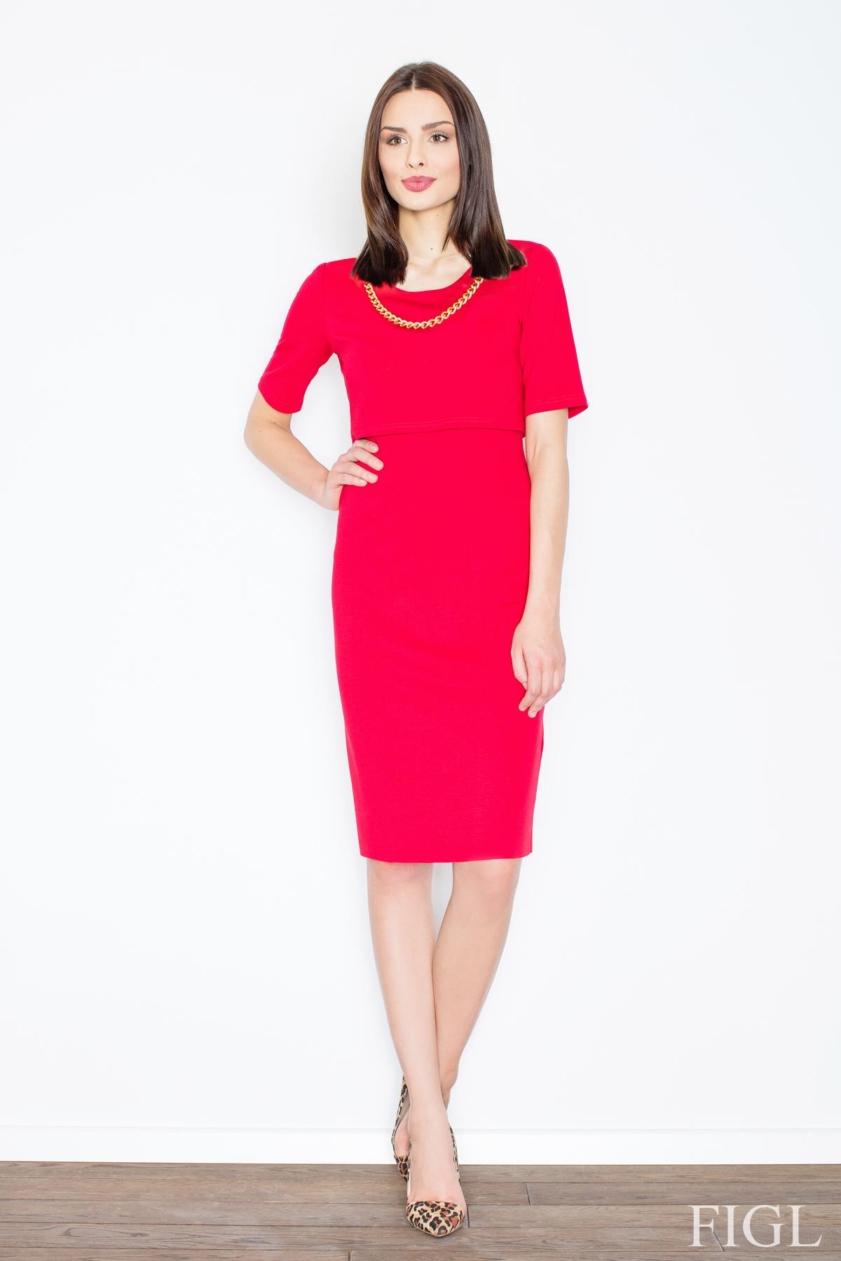 Denní šaty  model 52572 Figl