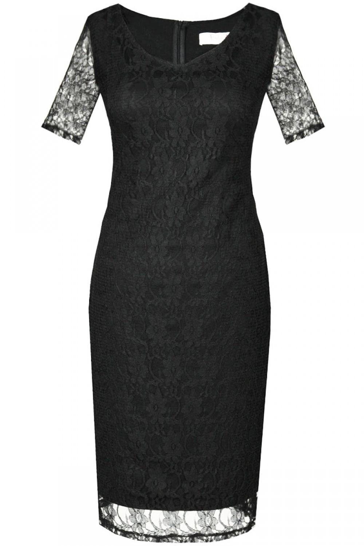 Večerní šaty  model 60760 Fokus Fashion