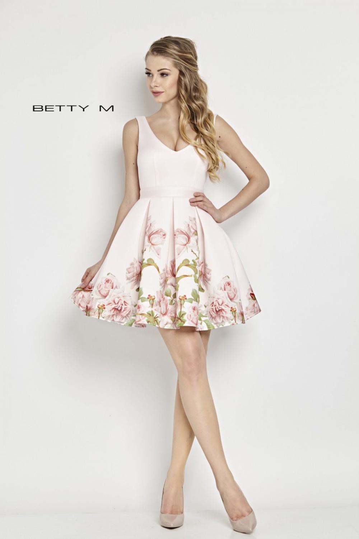 Společenské šaty  model 62147 BETTY M