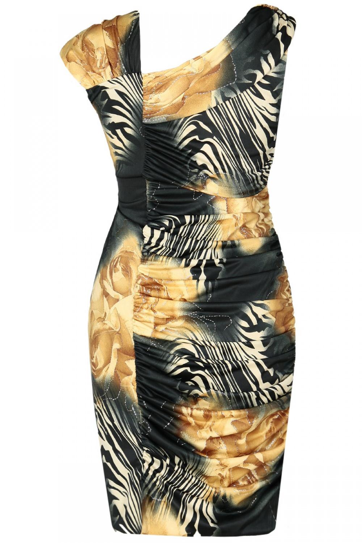 Sukienka koktajlowa model 67878 Fokus Fashion