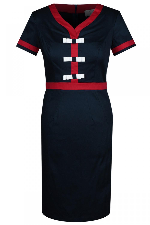 Společenské šaty  model 74211 Fokus Fashion