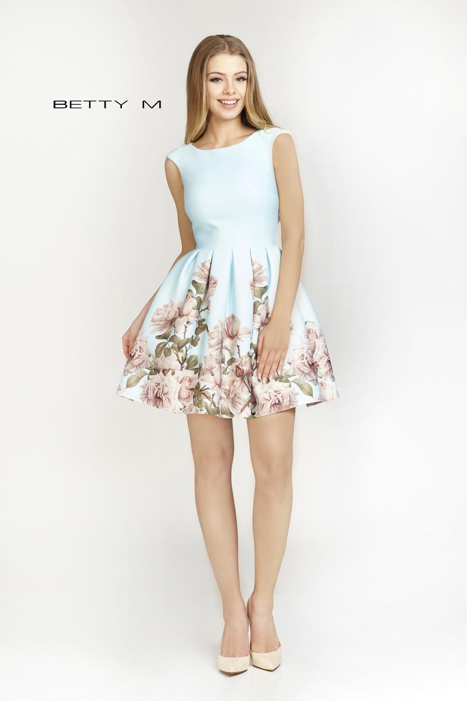 Společenské šaty  model 79633 BETTY M