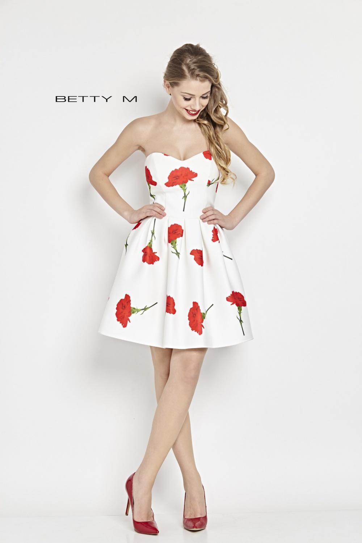 Společenské šaty  model 79657 BETTY M