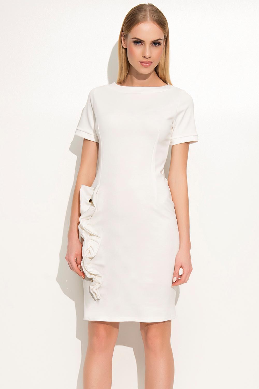 Sukienka Model M350 Ecru - Makadamia
