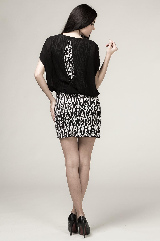 Denní šaty  model 26141 Depare