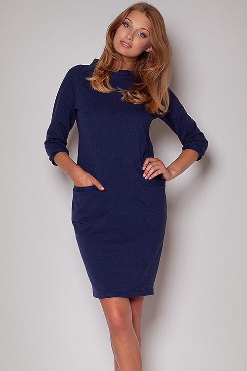 Denní šaty  model 28045 Figl