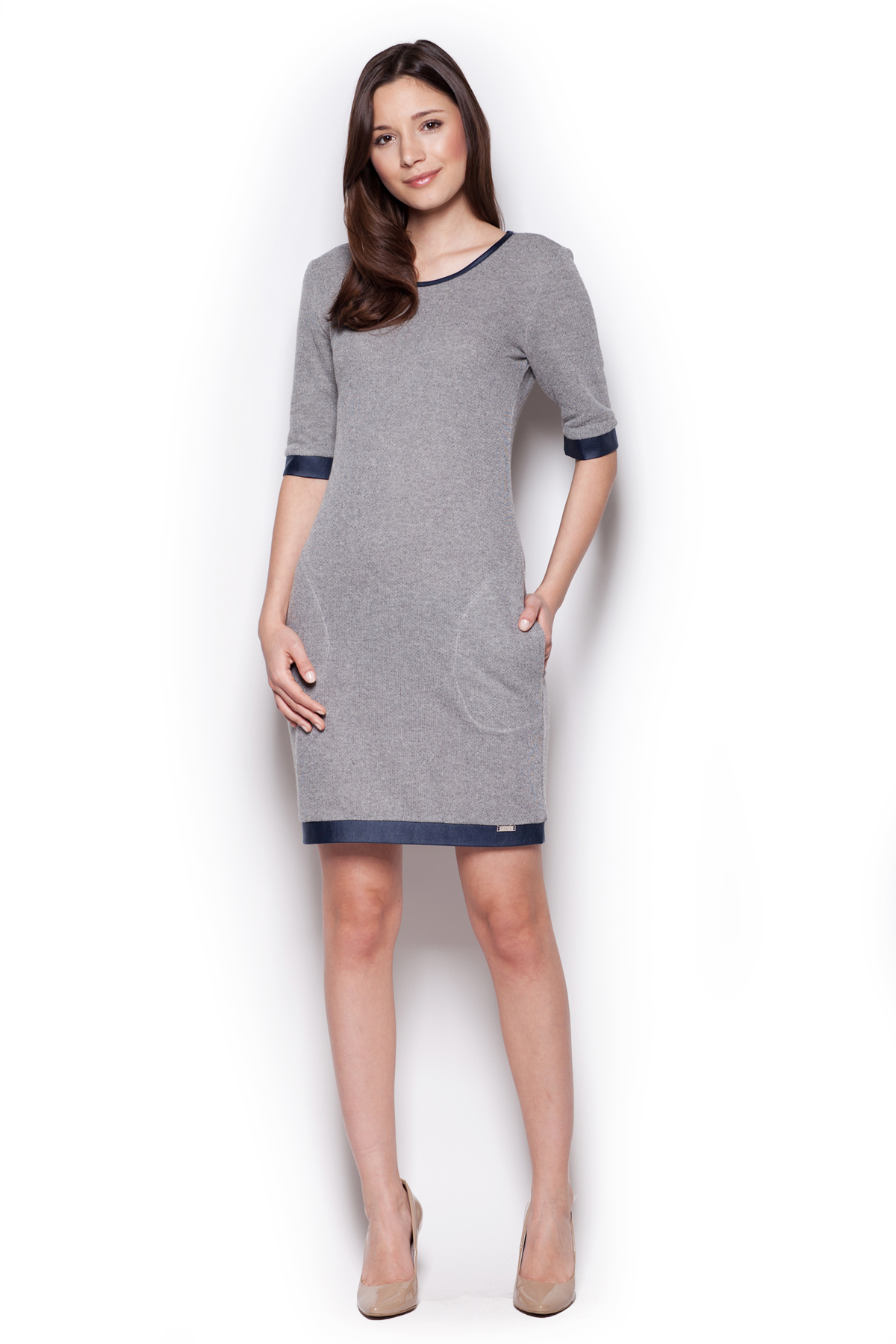 Denní šaty  model 44178 Figl
